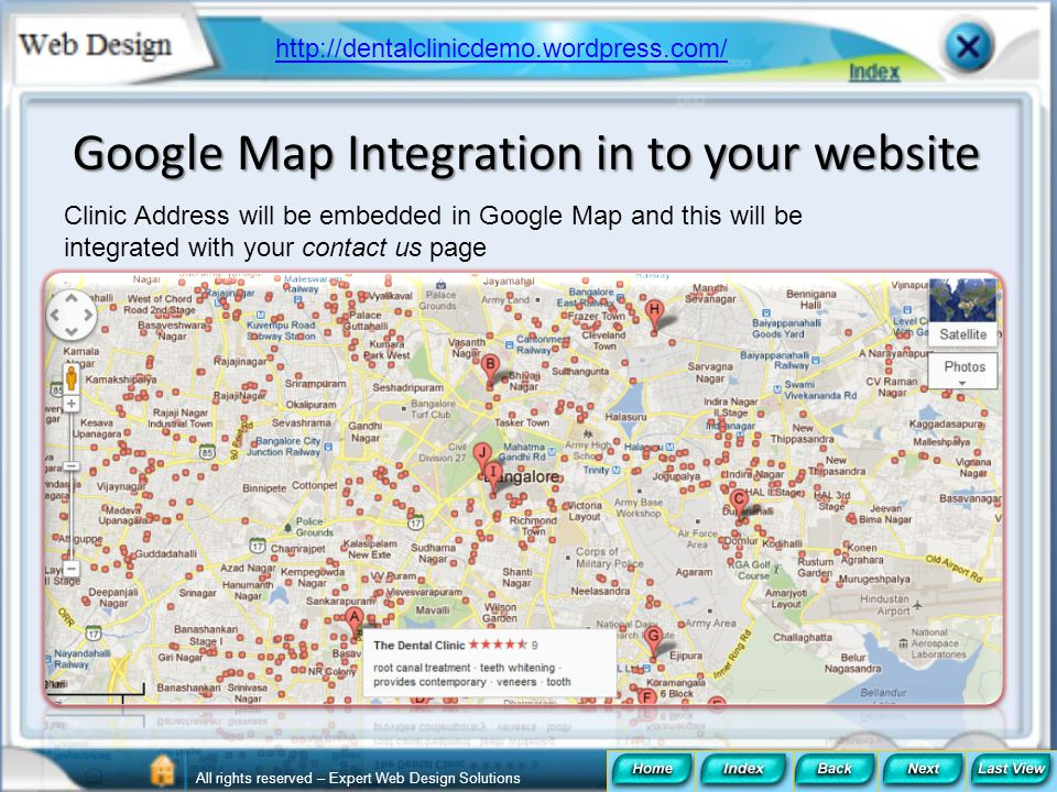 Google Map Integration in to your website