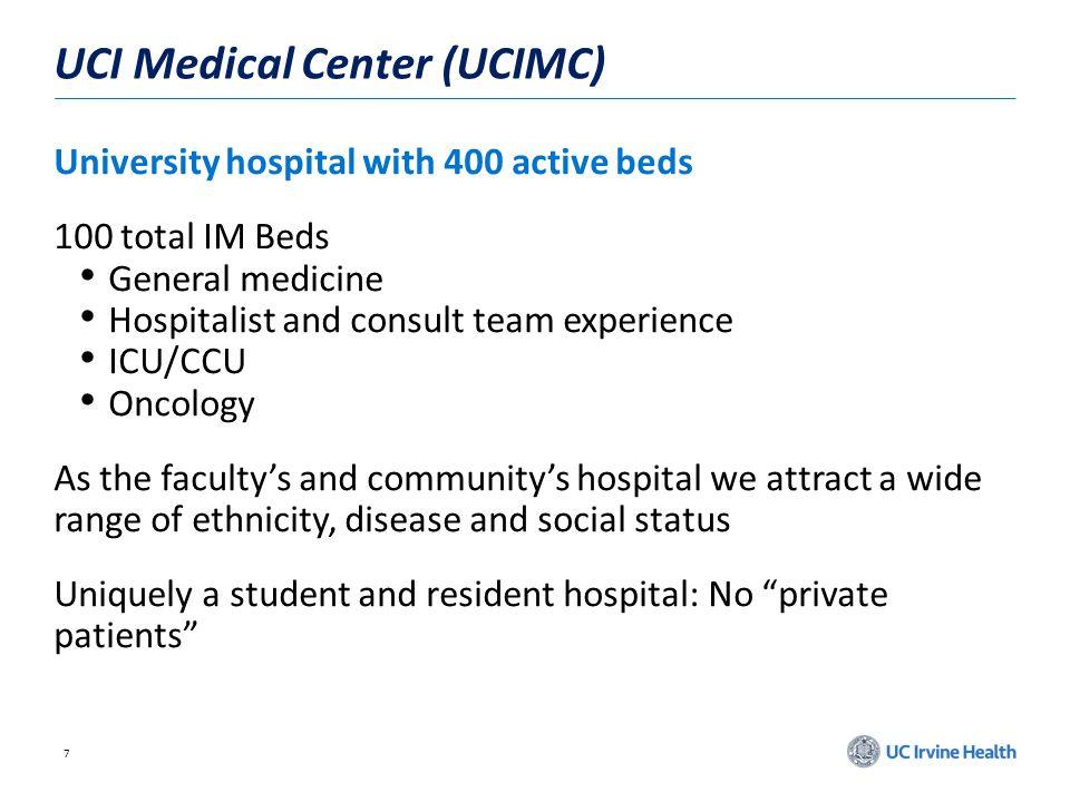 UCI Medical Center (UCIMC)