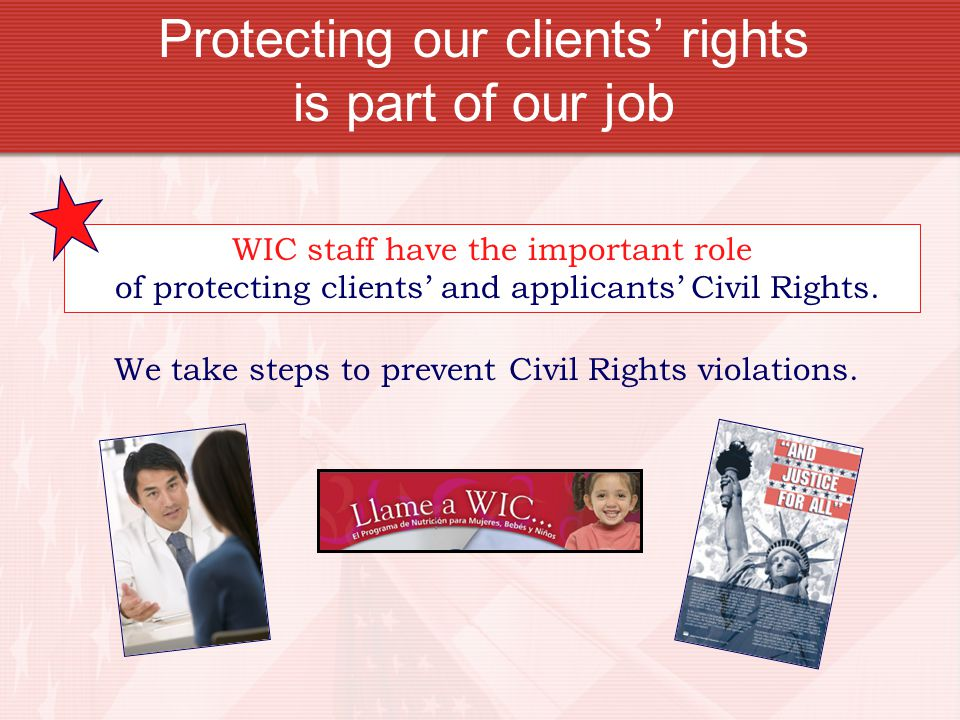 Protecting our clients' rights is part of our job