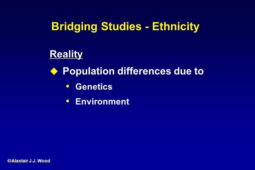 Bridging Studies - Ethnicity