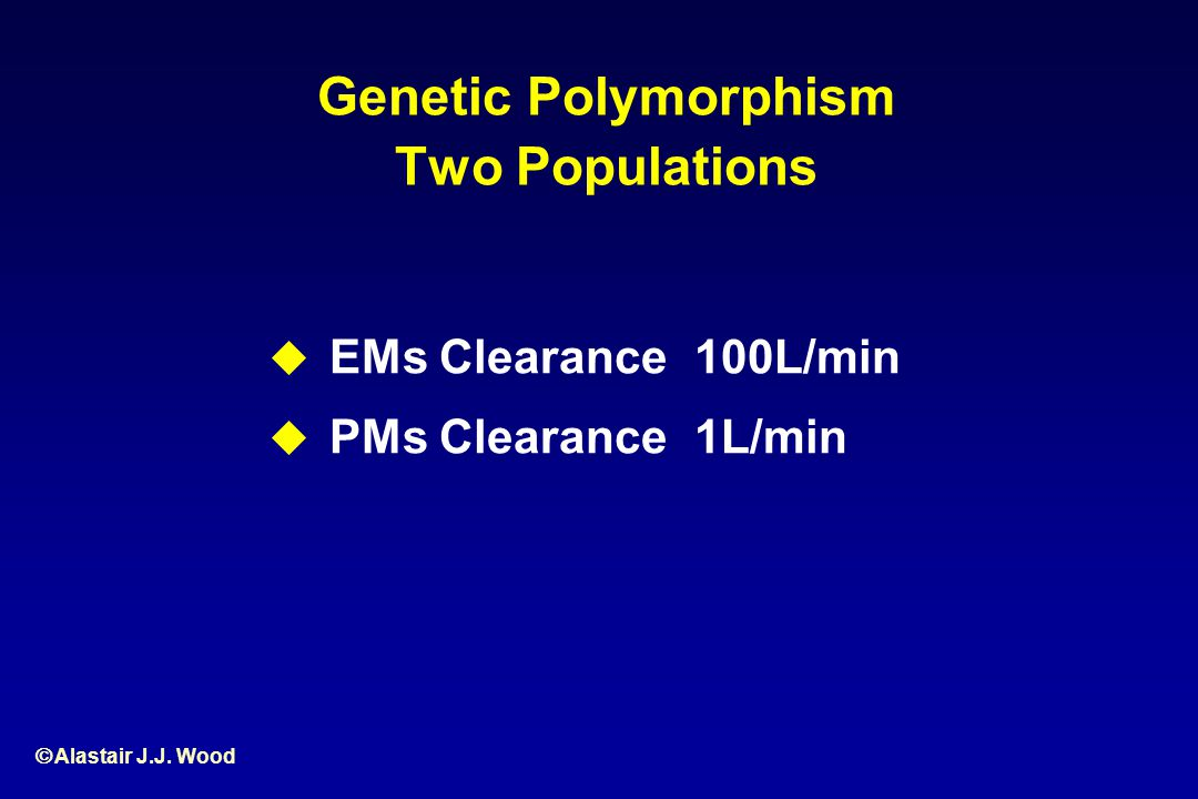 Genetic Polymorphism Two Populations