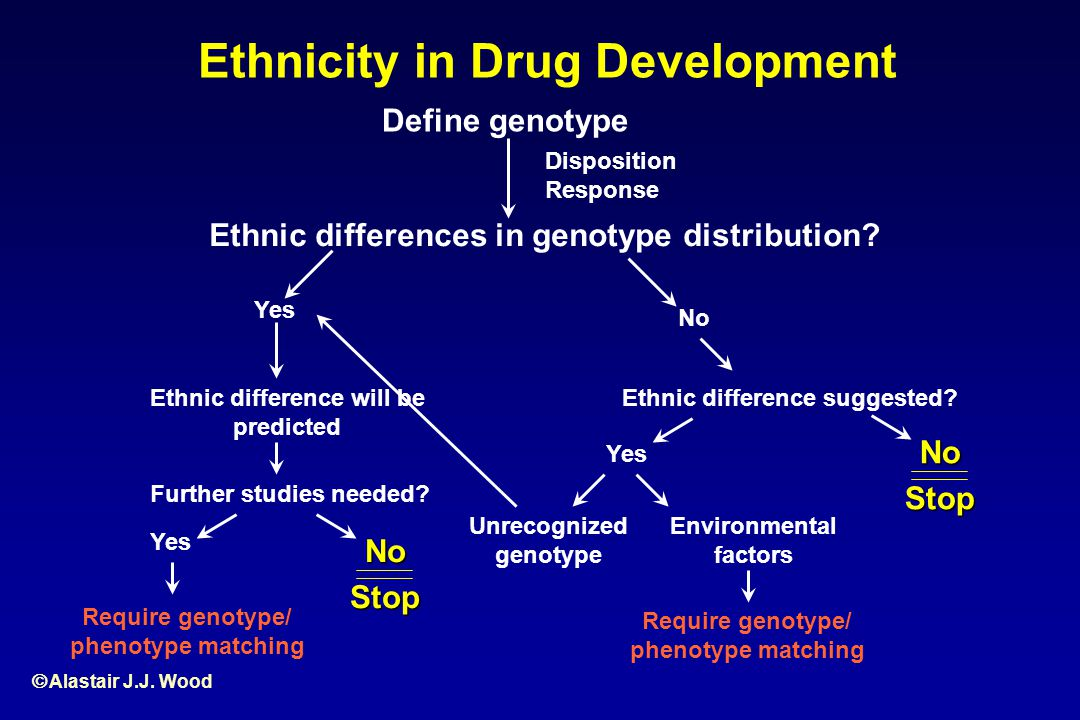 Ethnicity in Drug Development