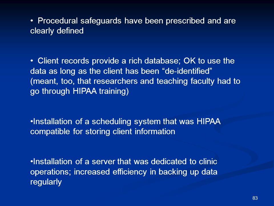 Procedural safeguards have been prescribed and are clearly defined
