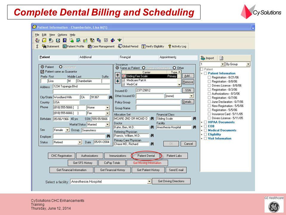 Complete Dental Billing and Scheduling