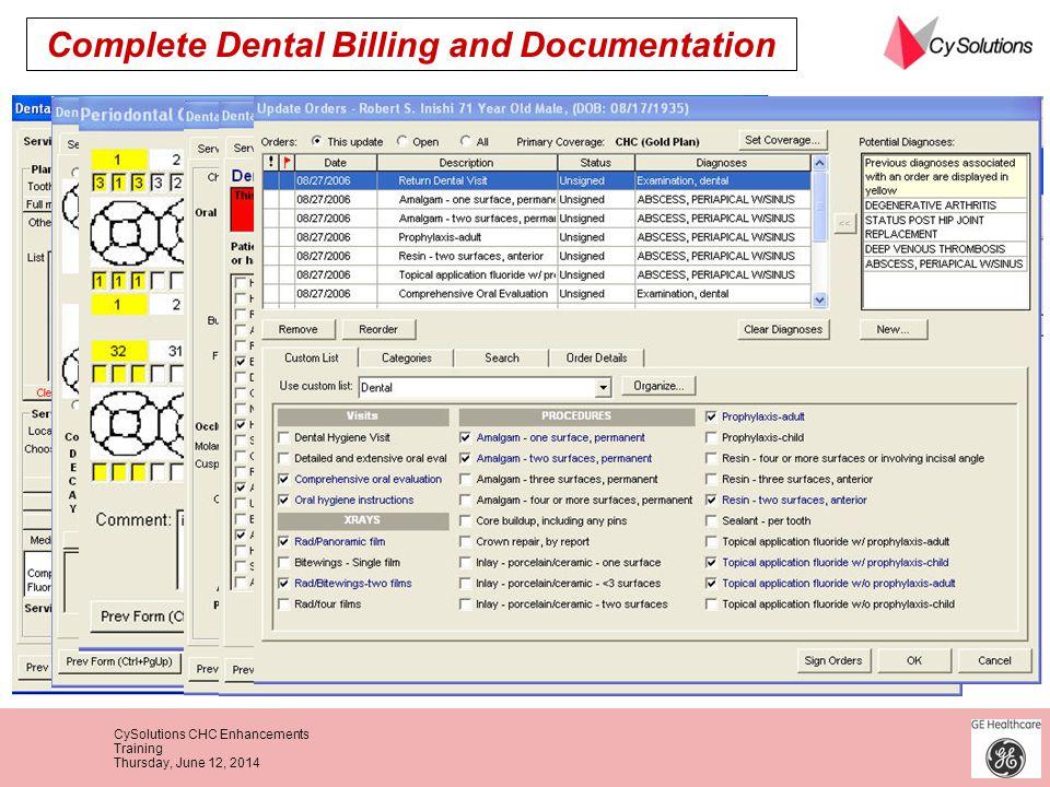 Complete Dental Billing and Documentation