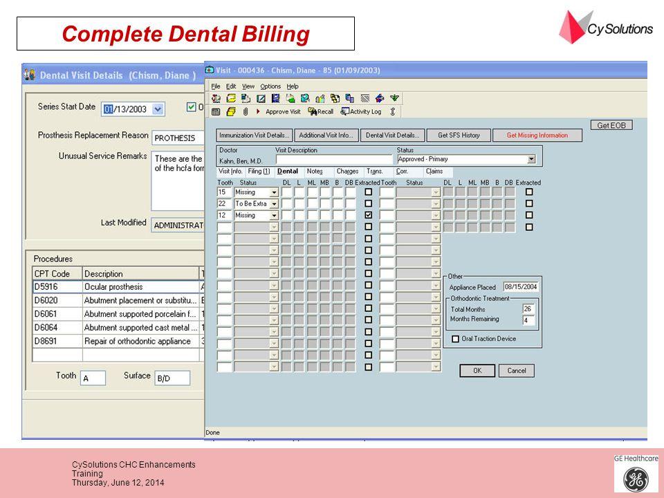 Complete Dental Billing