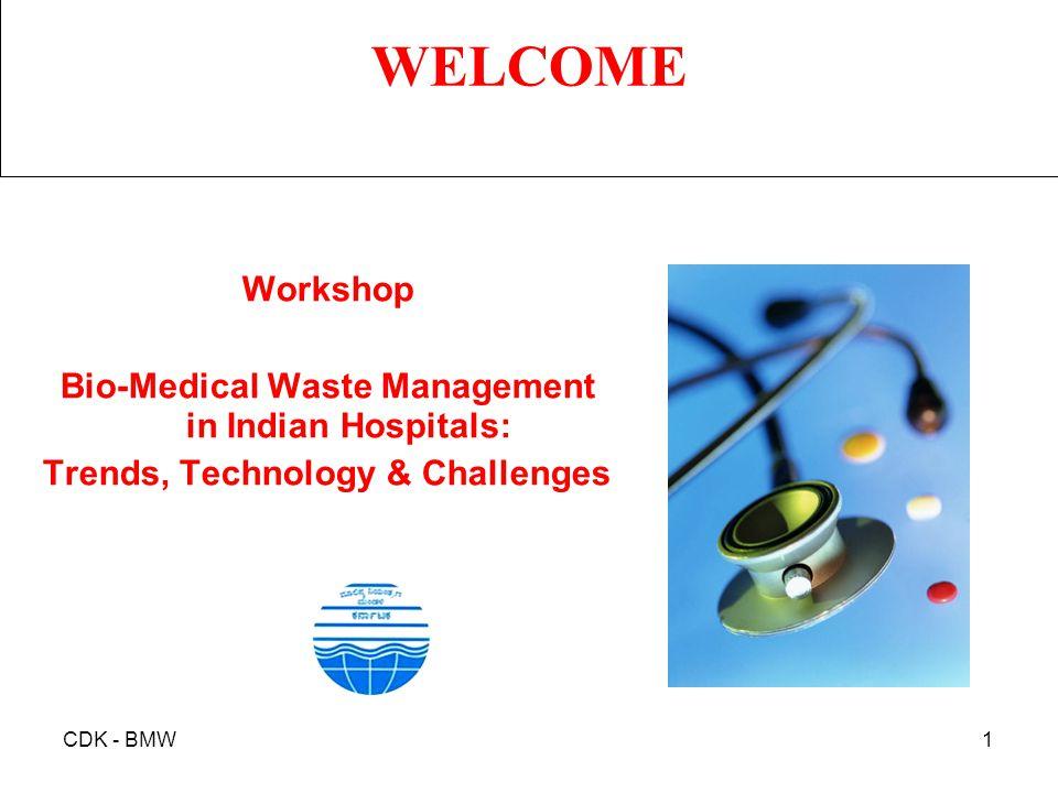 Bio-Medical Waste Management in Indian Hospitals:
