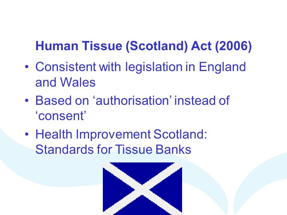 Human Tissue (Scotland) Act (2006)