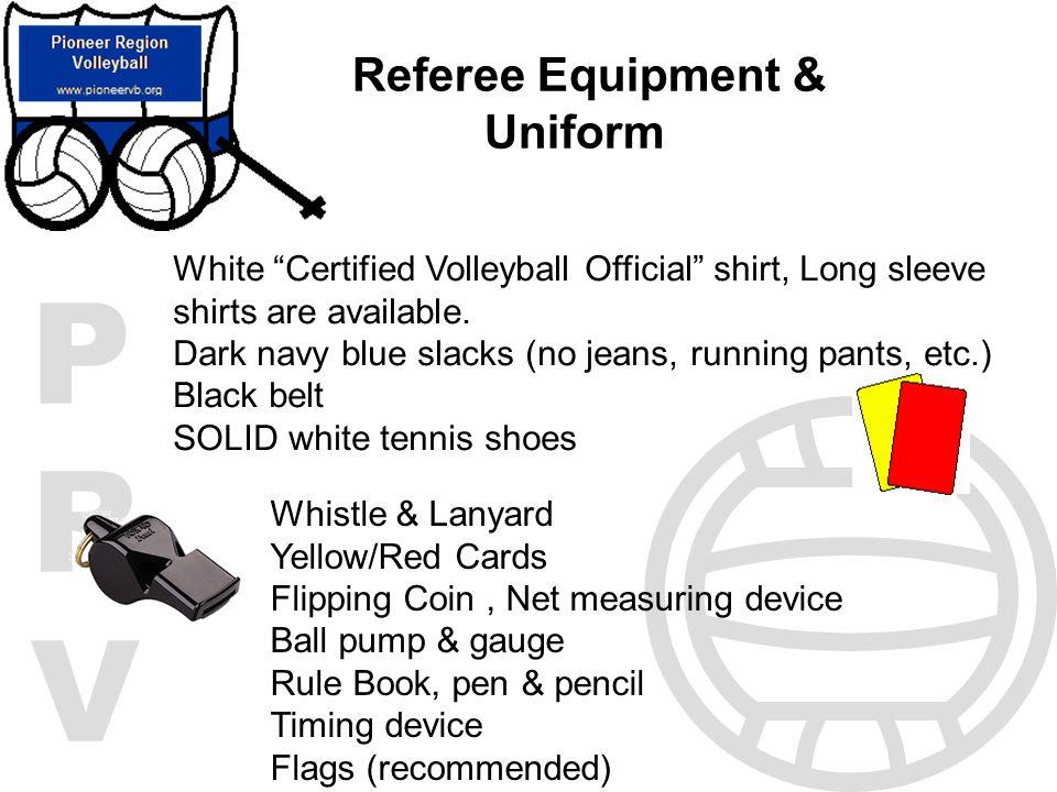 Referee Equipment & Uniform