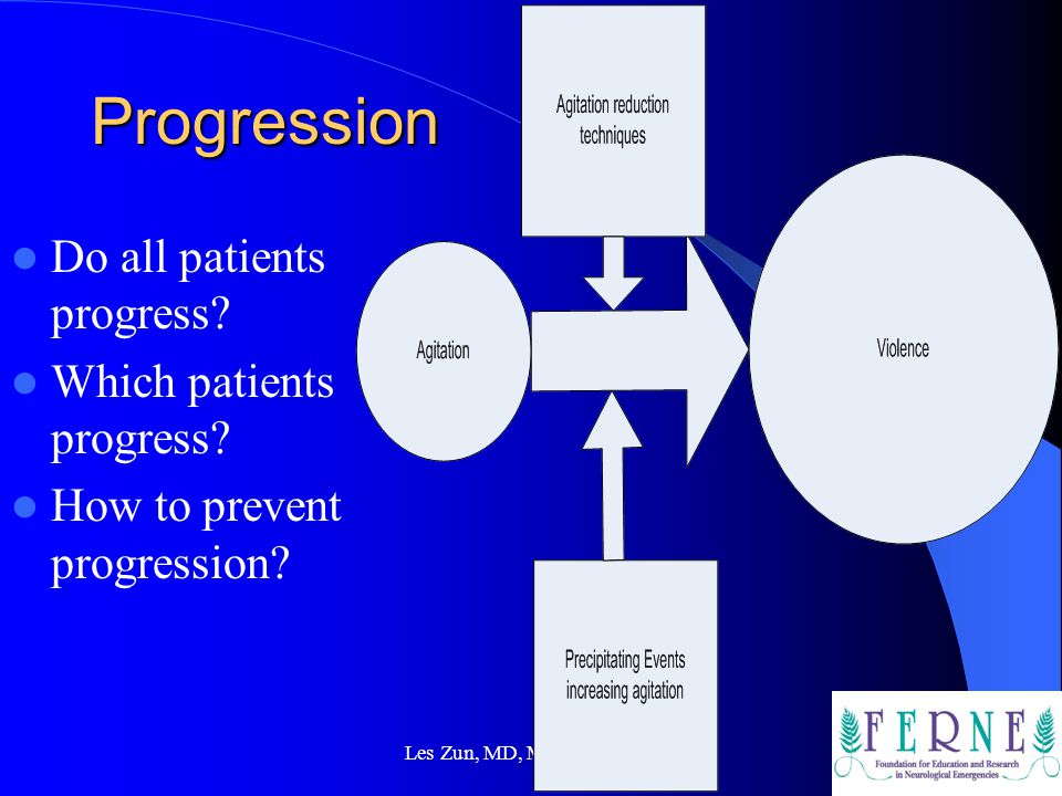 Progression Do all patients progress Which patients progress