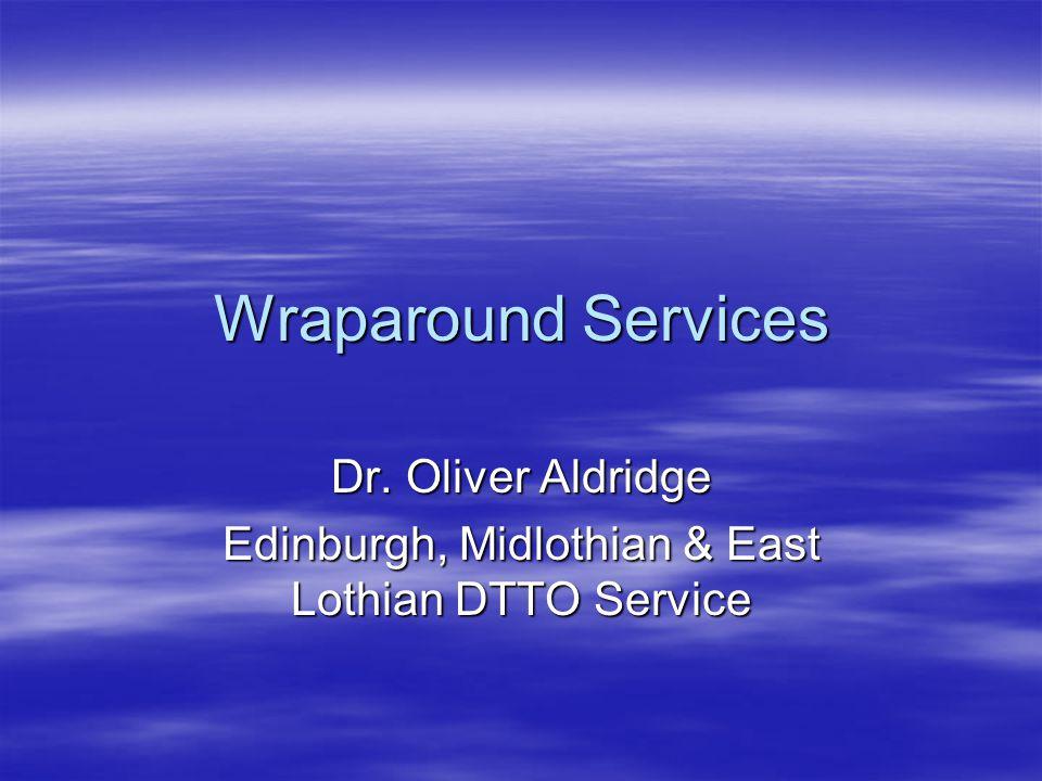 Dr. Oliver Aldridge Edinburgh, Midlothian & East Lothian DTTO Service