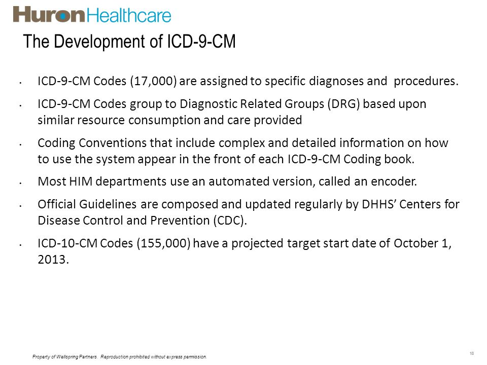 The Development of ICD-9-CM Coding