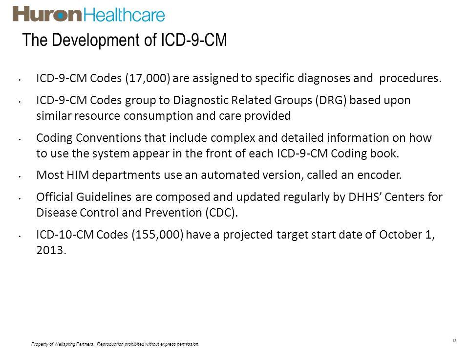 The Development of ICD-9-CM Coding