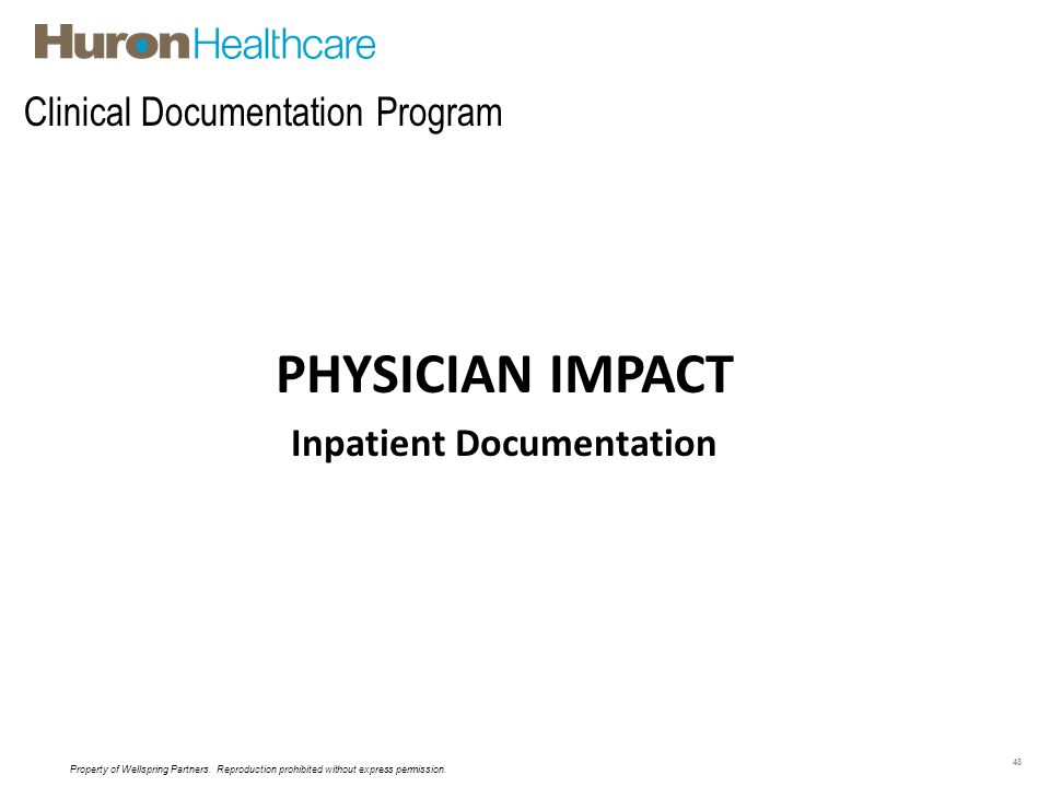 Clinical Documentation Program