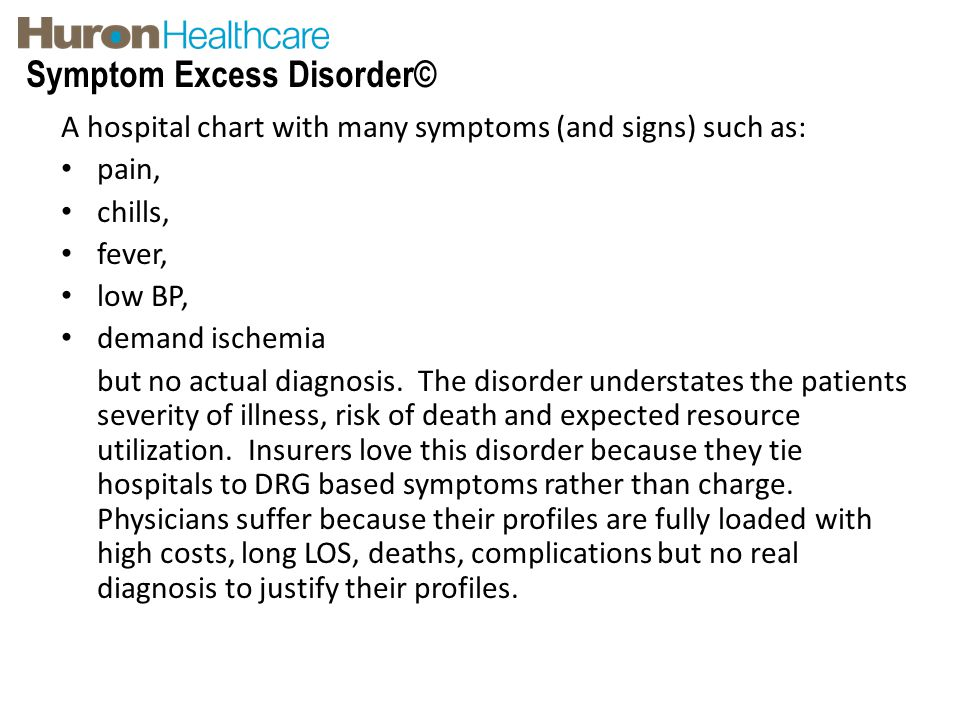Symptom Excess Disorder©