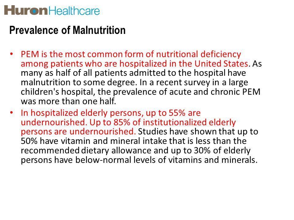Prevalence of Malnutrition