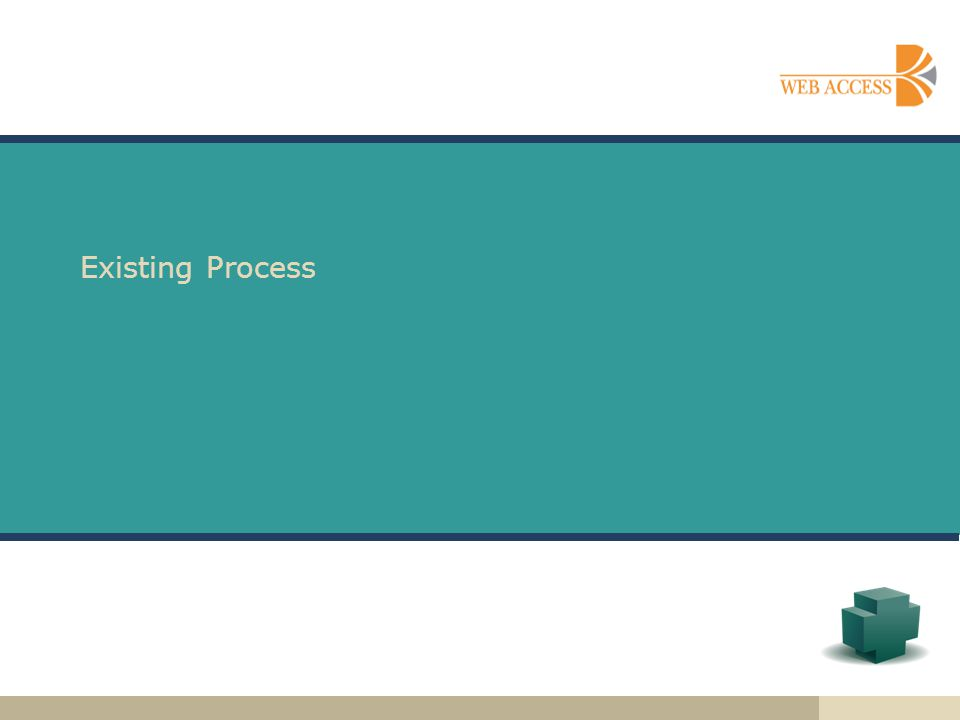 Existing Process