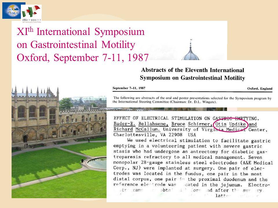 XIth International Symposium