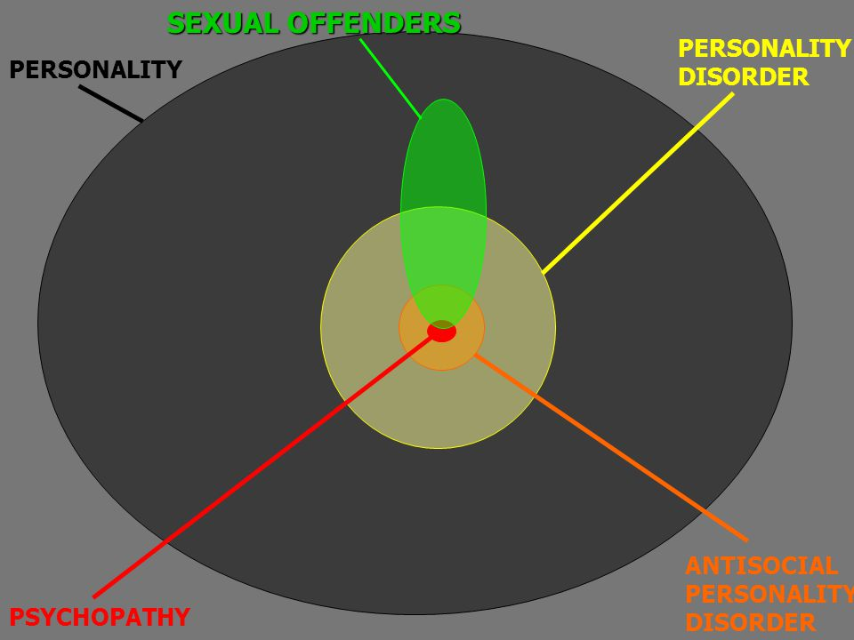 SEXUAL OFFENDERS PERSONALITY DISORDER PERSONALITY