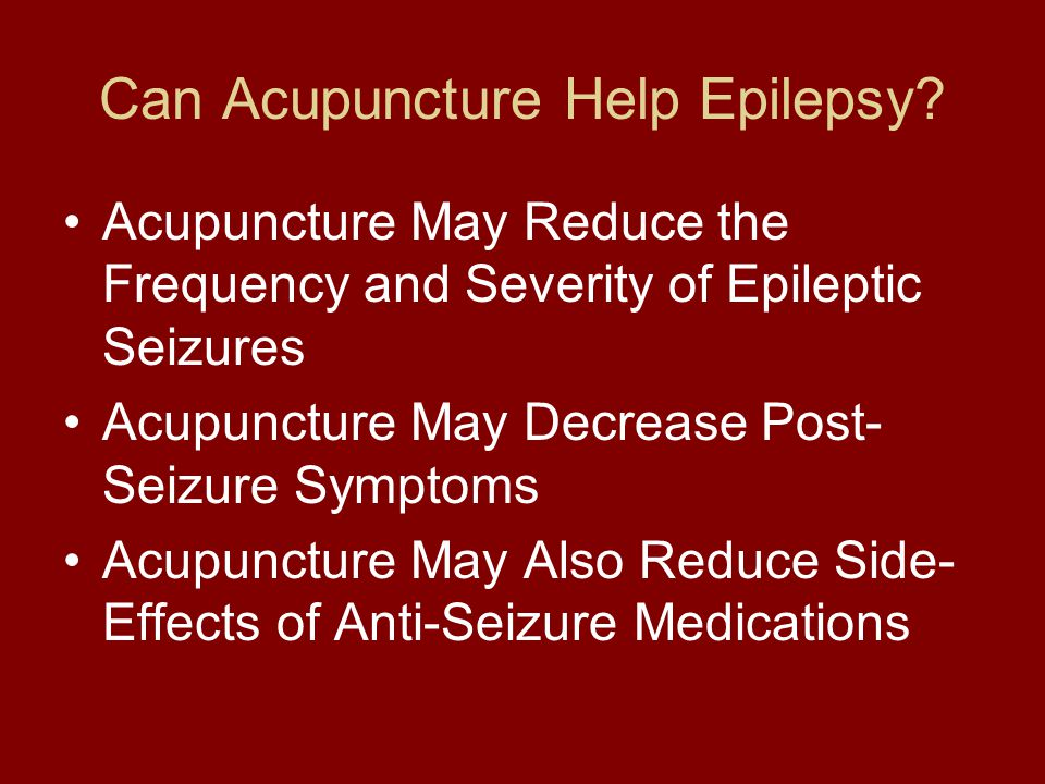 Can Acupuncture Help Epilepsy