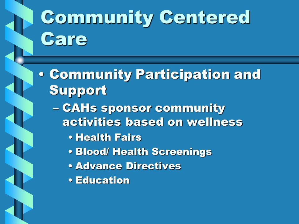 Community Centered Care