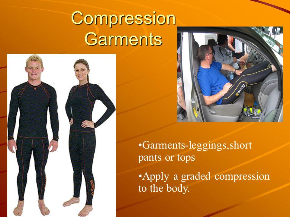 Compression Garments Garments-leggings,short pants or tops