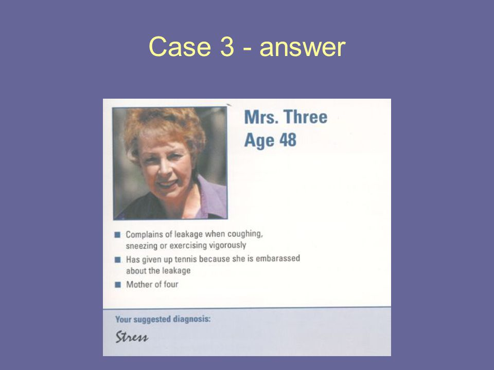 Case 3 - answer