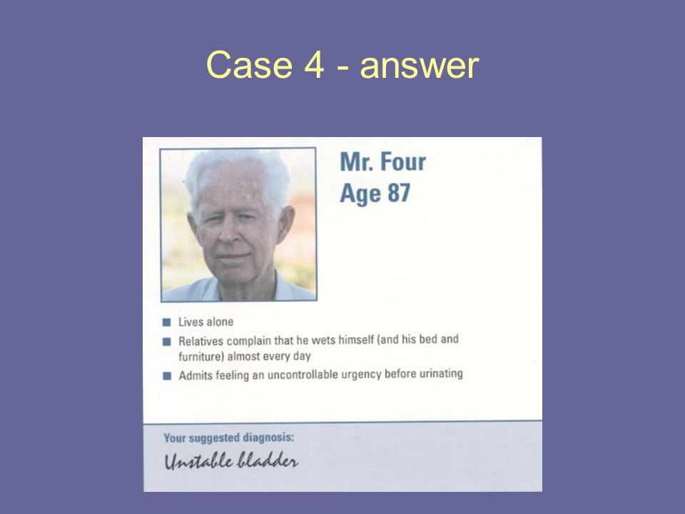 Case 4 - answer