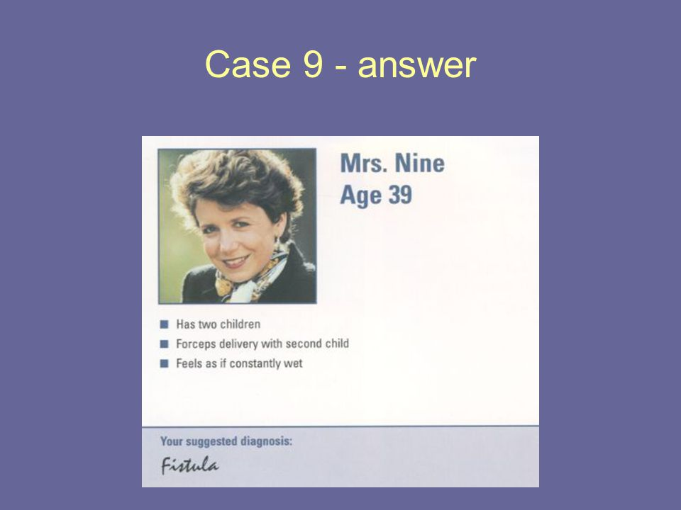 Case 9 - answer