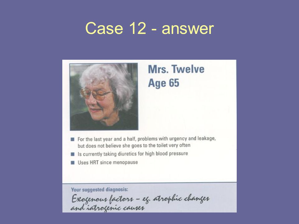 Case 12 - answer