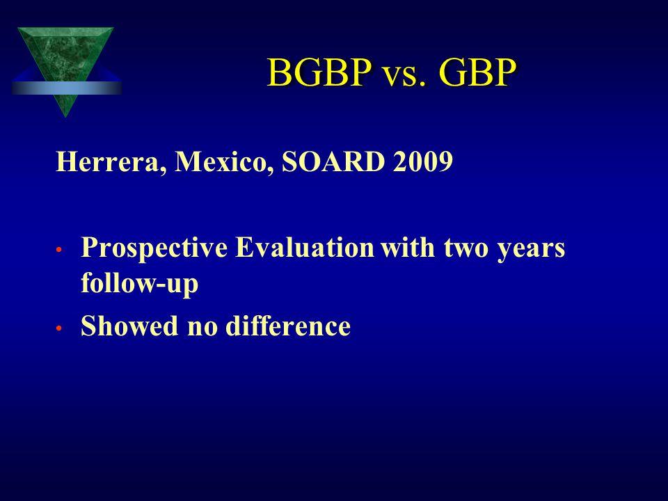 BGBP vs. GBP Herrera, Mexico, SOARD 2009