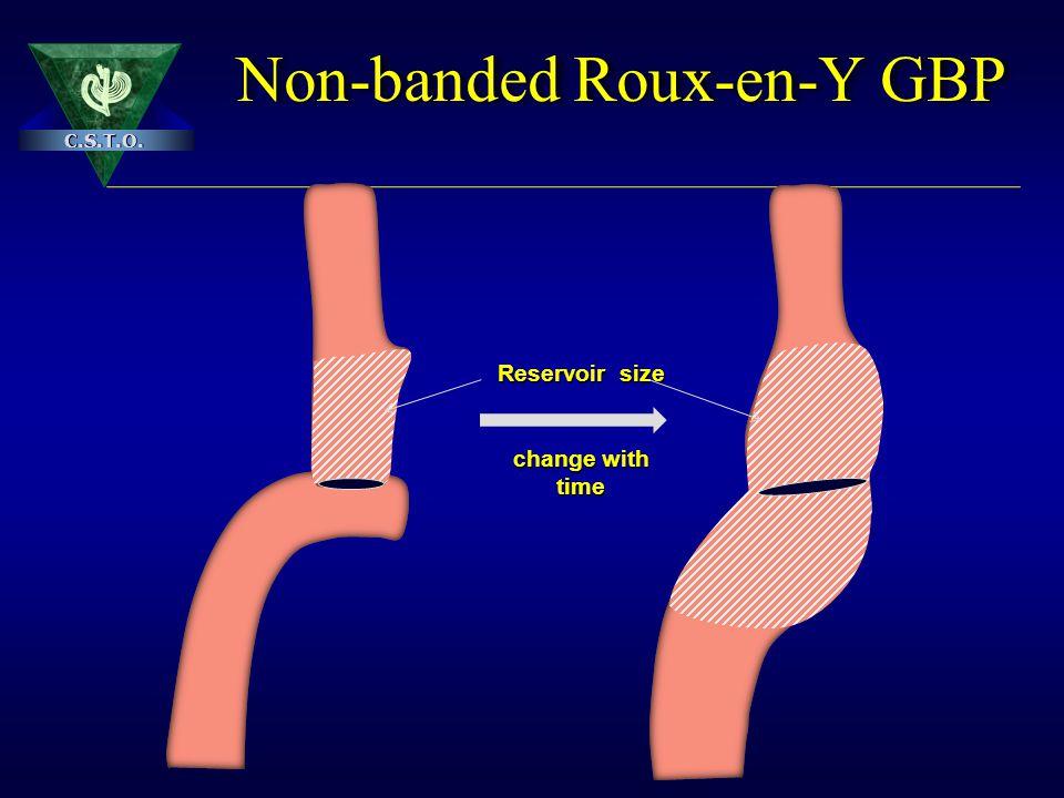 Non-banded Roux-en-Y GBP