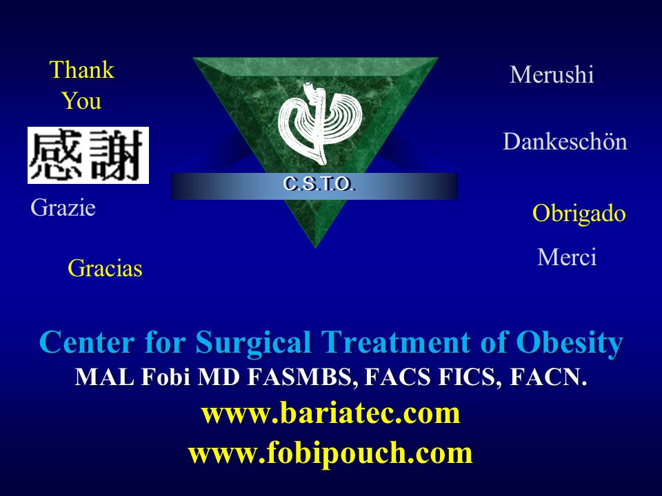 Center for Surgical Treatment of Obesity www.bariatec.com