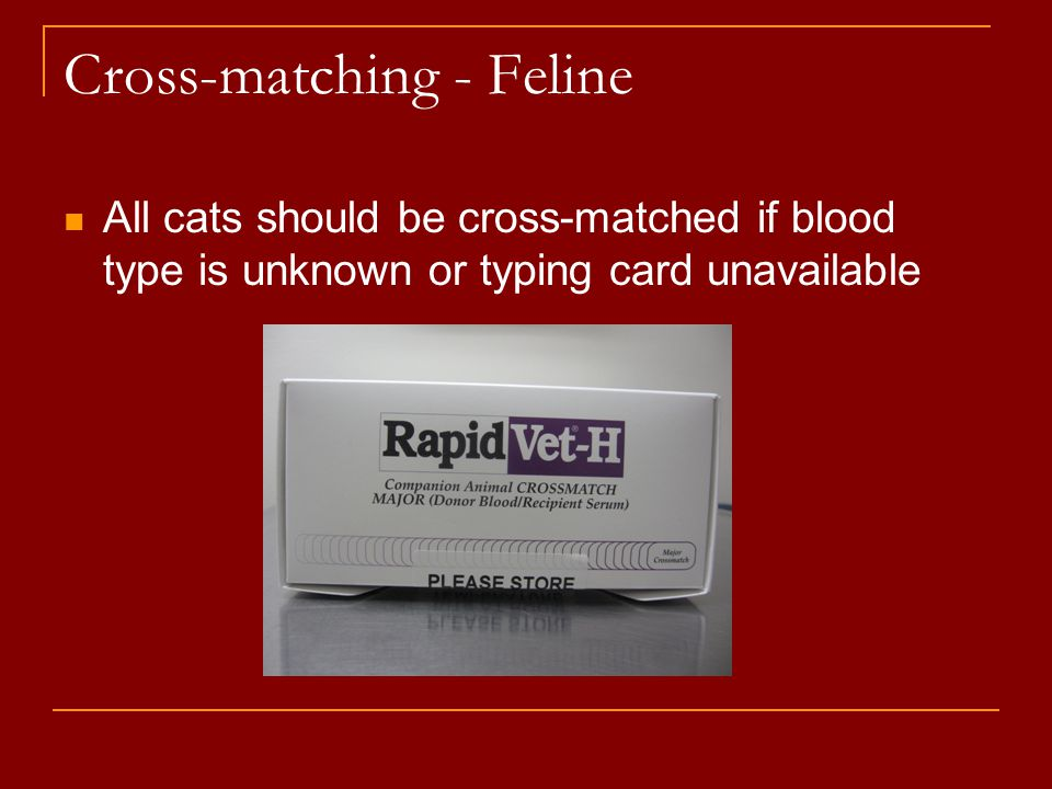 Cross-matching - Feline