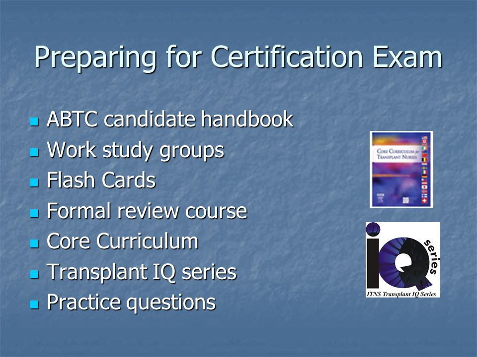 Preparing for Certification Exam