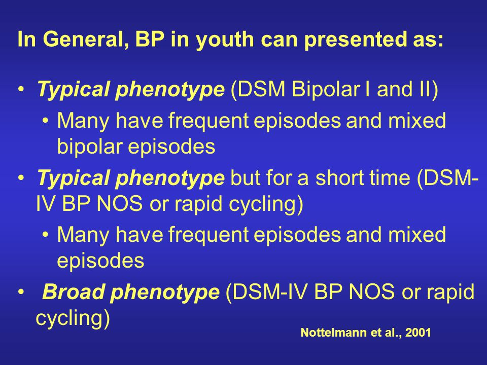 In General, BP in youth can presented as: