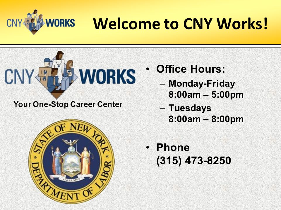 Your One-Stop Career Center