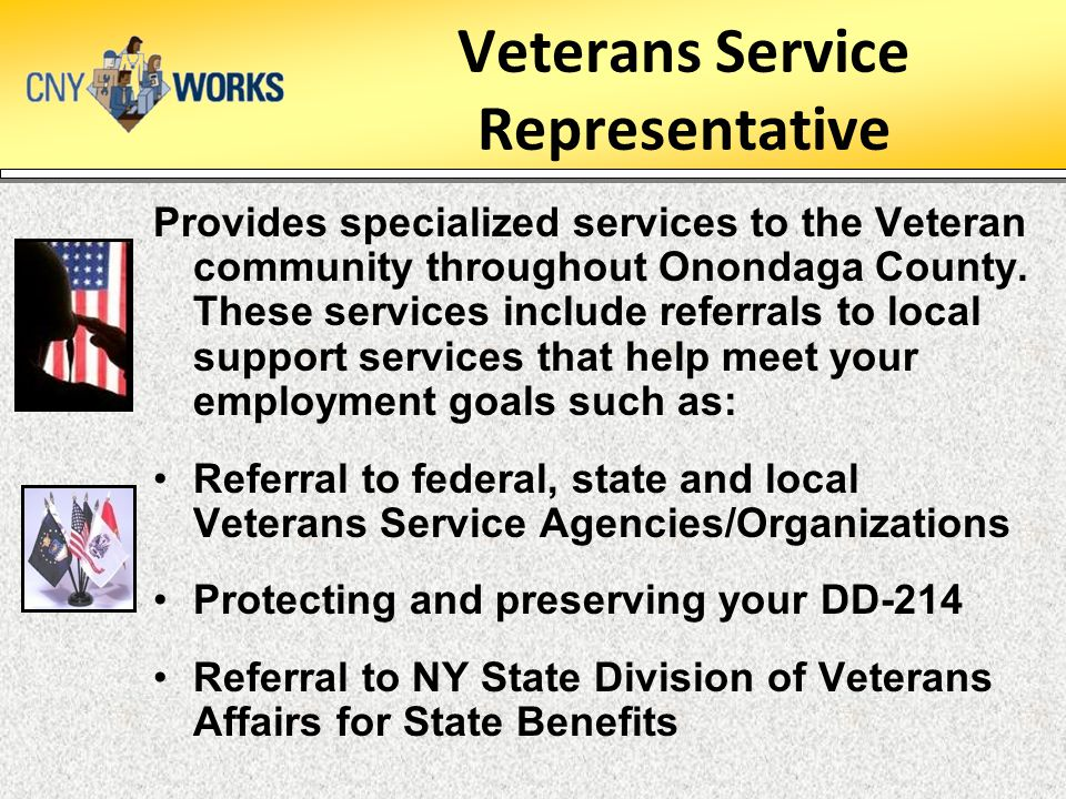 Veterans Service Representative