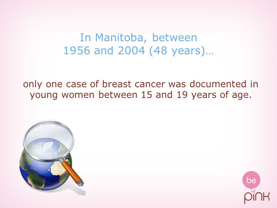 In Manitoba, between 1956 and 2004 (48 years)…