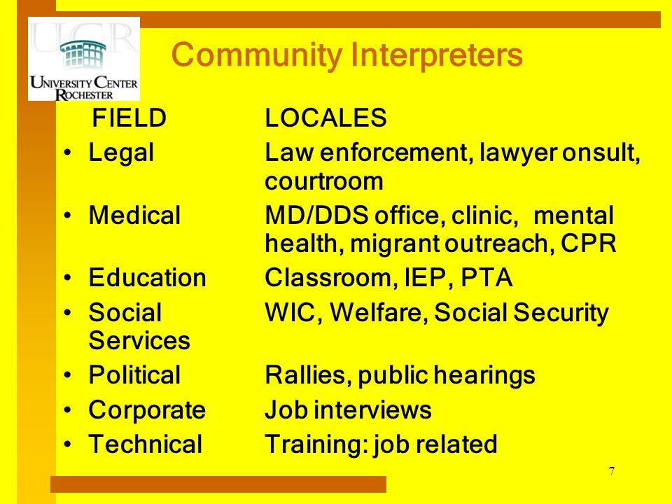 Community Interpreters