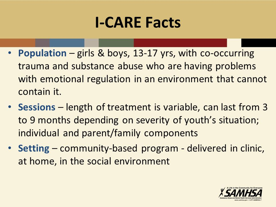 I-CARE Facts