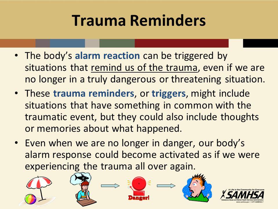 Trauma Reminders
