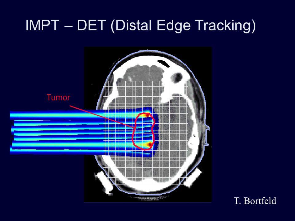 IMPT – DET (Distal Edge Tracking)