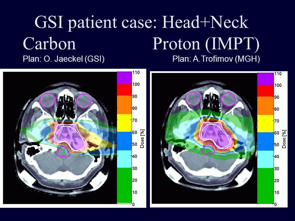 GSI patient case: Head+Neck Carbon Proton (IMPT)