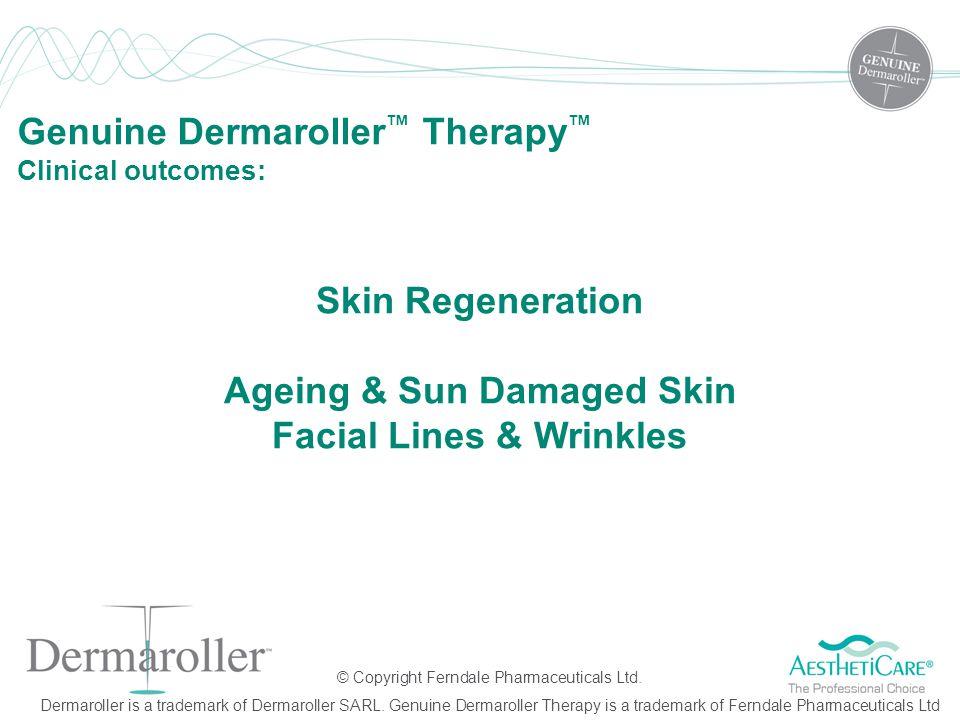 Skin Regeneration Ageing & Sun Damaged Skin Facial Lines & Wrinkles