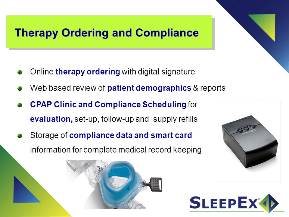 Therapy Ordering and Compliance