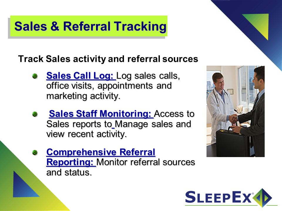 Sales & Referral Tracking