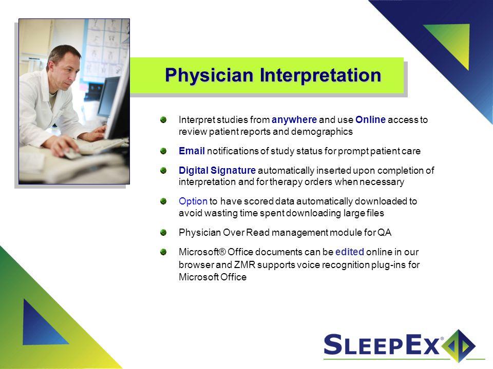 Physician Interpretation