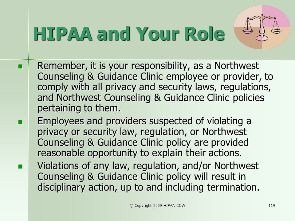 HIPAA and Your Role