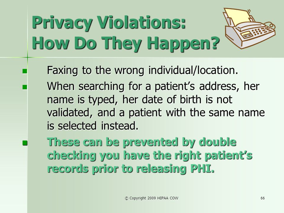 Privacy Violations: How Do They Happen